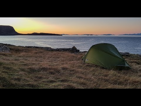 Autumn Wildcamp and Fishing in Skye