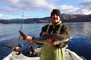 Another nice spurdog from Laga Bay in Loch Sunart