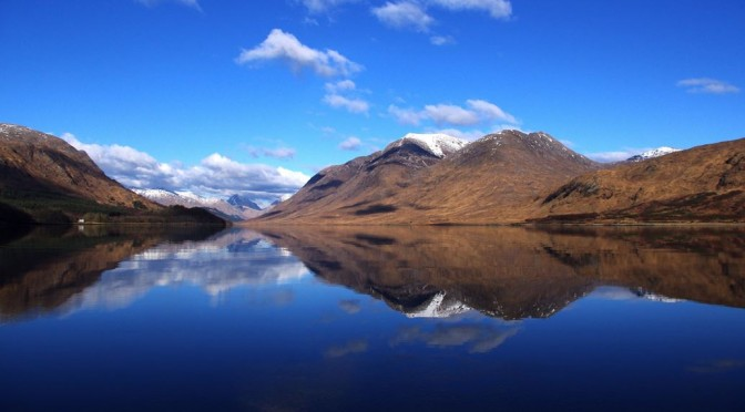 Stunning day on Etive