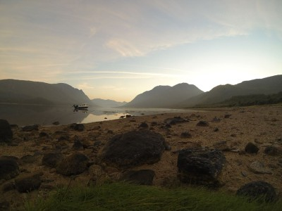 Sunrise on Loch Etive