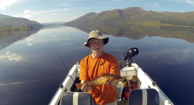 Small codling galore from Etive shoreline