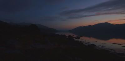 Dusk on Loch Etive
