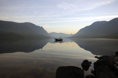 Mirror calm Etive sunrise