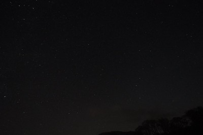 A nice starry night - but the cold killed my camera