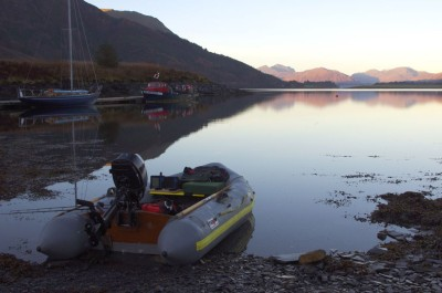 Ready for the off at Ballachulish