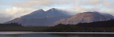 Looking towards Mull from Loch Leven