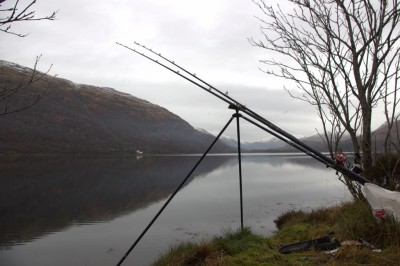 A promising spot on Loch Creran