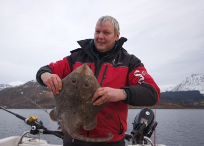 Ian with a nice Leven ray