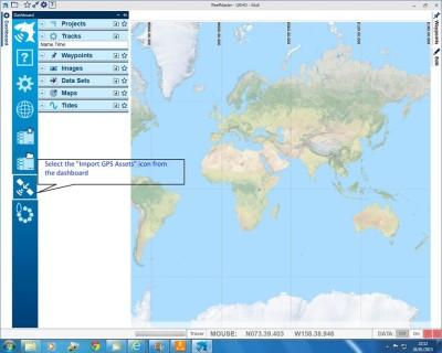 Reefmaster-ImportGPSdata