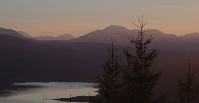 Glengarry viewpoint on the Kyle road