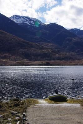 SIB on upper Loch Leven