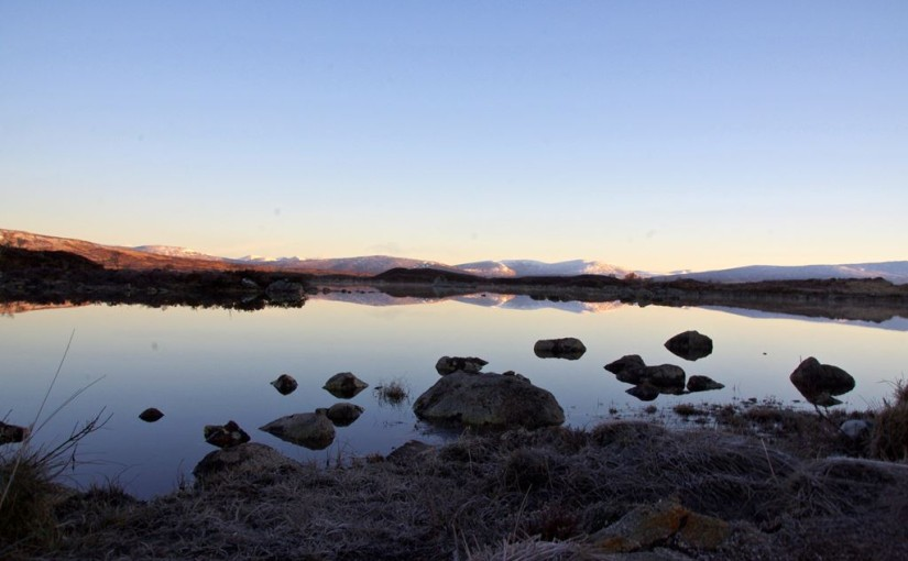Early morning on Rannoch Moor