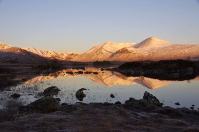 Towards Black Mount from Rannoch Moor