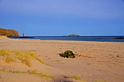 Early morning on Sandwood Bay