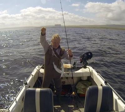 First mackerel off Dunbar