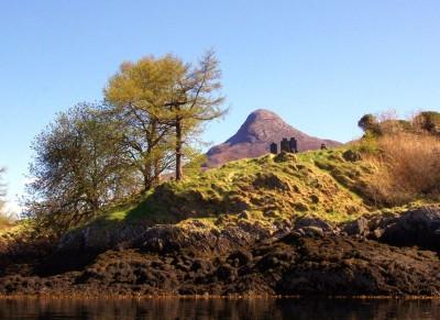Gravestones on the Isles of Glencoe