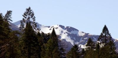 Snow on Sgorr Dhearg