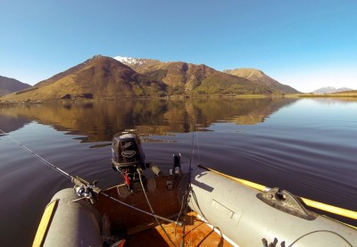Glorious morning on Loch Leven