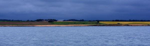 An ominous sky near St Andrews