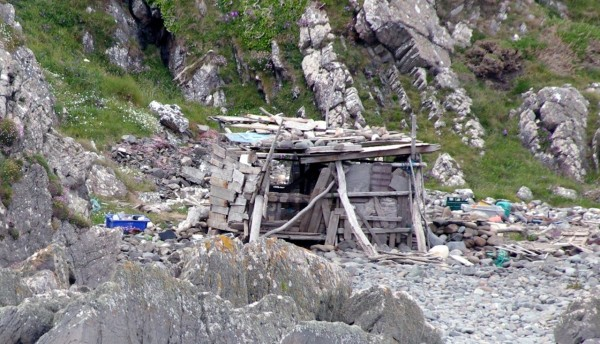A summerhouse at Port Logan?