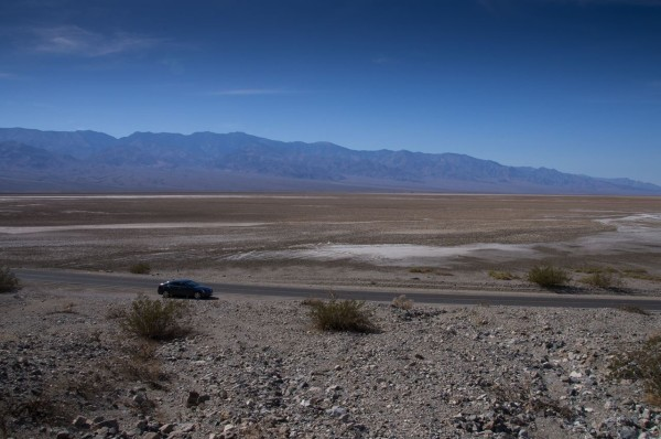 Exhausting heat in Death Valley