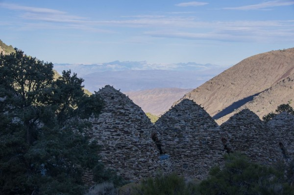 Start point for Wild Rose Peak, at the Charcoal Kilns