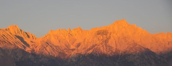 Mount Whitney at sunrise