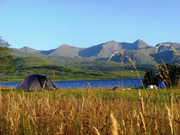 Camping at Barrs