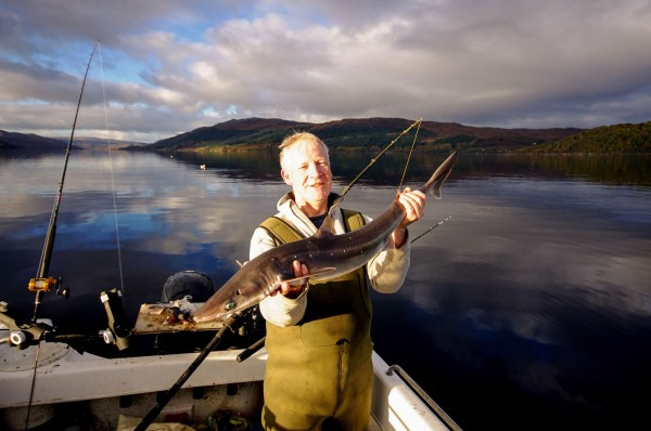 A double figure fish from near Salen, Loch Sunart