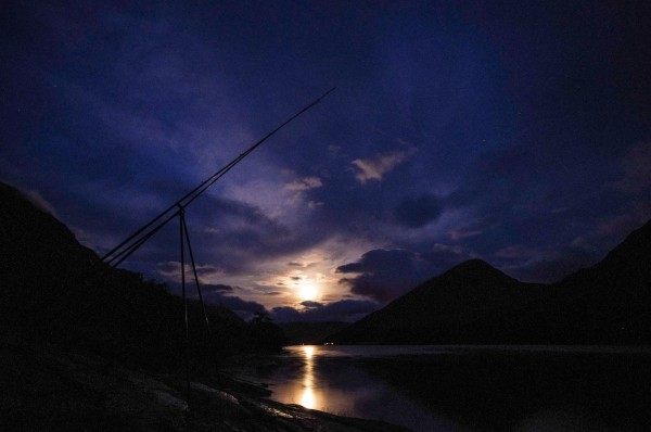 Moonrise, looking towards Kinlochleven