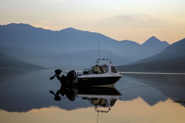 Overnight mooring on Loch Etive