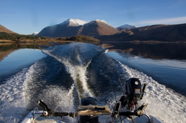 A beautiful day afloat on Loch Etive