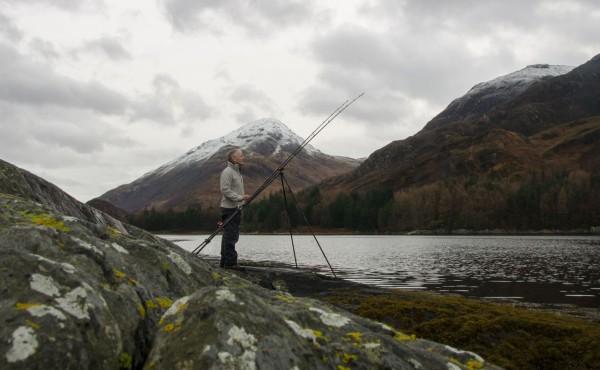Fishing Loch Leven in December