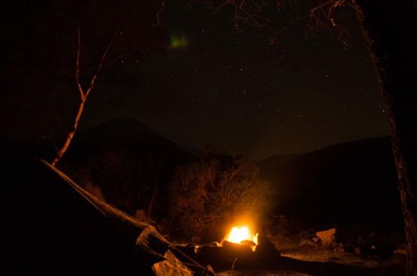 A very civilised wild camp on Loch Etive