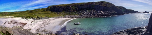 Garbh Eilean, a beautiful little beach hidden away on the south coast of Mull