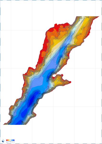 Etive Charts - Reefmaster generated chart of Loch Etive (roughly Cadderlie to Kinglass area) using UKHO survey data (12 MB download)