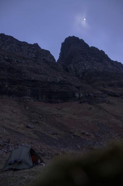 Nightfall, Ardmeanach Wilderness, Mull