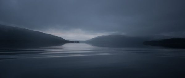 A very atmospheric early morning on Loch Sunart