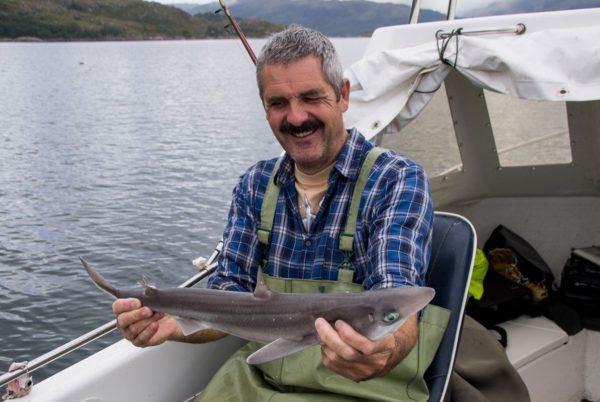 Not great - a typical sized spurdog for this trip on Loch Sunart
