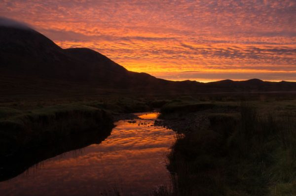 Sunrise near Elgol, Isle of Skye