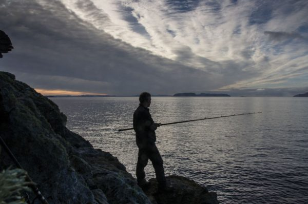 Beautiful day to be out and fishing - near Elgol, Isle of Skye