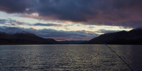 Midwinter Dusk on Loch Etive