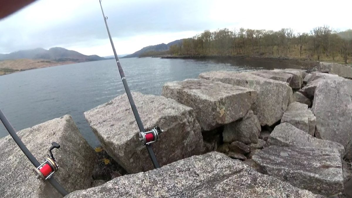 Spring Spurdog fishing on Loch Etive