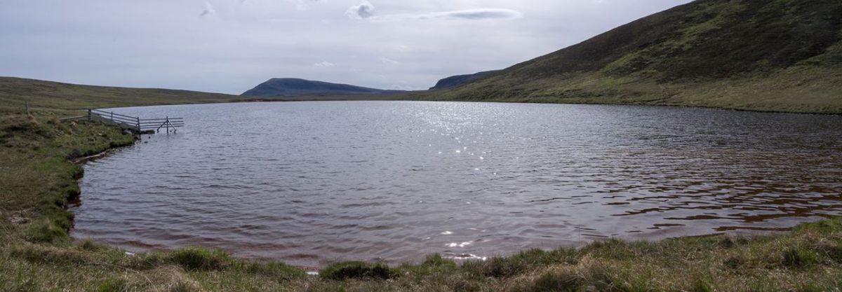 Loch Keisgaig on a sunny May morning