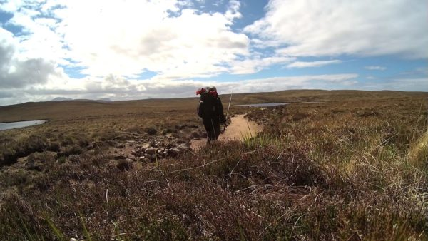 Trail into Sandwood from Blairmore