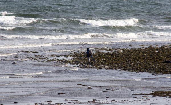 A boisterous sea on Luce Bay