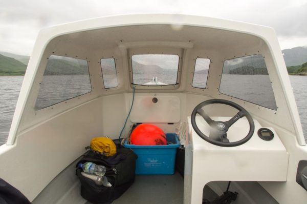 Cuddy and console view of the Orkney Longliner2