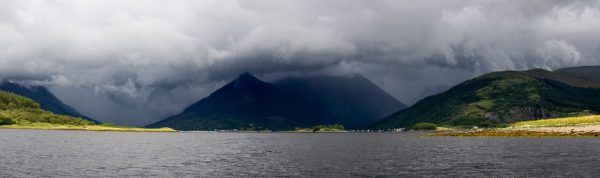 A moody looking Loch Leven and Glencoe