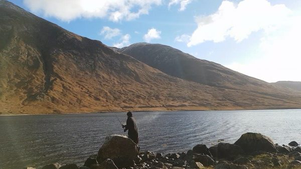 Casting out - upper Loch Etive