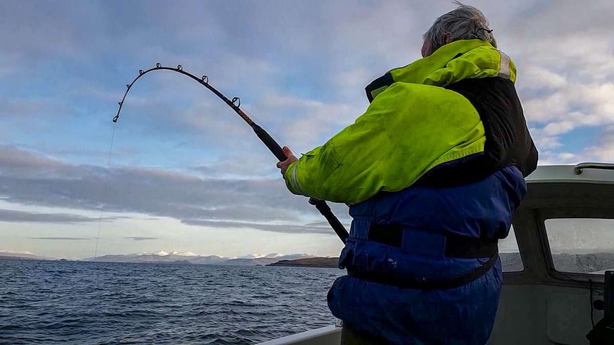 Kicking off 2018 in Style – Targeting Skate and Conger off Oban